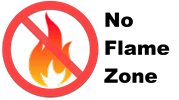 No Flame Zone